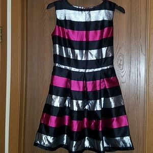Charming Charlie striped party dress